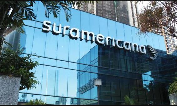 Imagen muestra edificio de Suramericana.