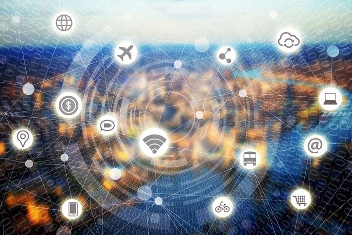 Imagen representa las redes y el internet.